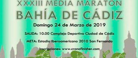 XXXIII Media Maratón Bahía de Cádiz
